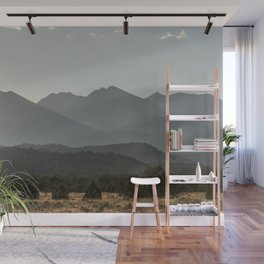 Rocky Mountain Haze Wall Mural