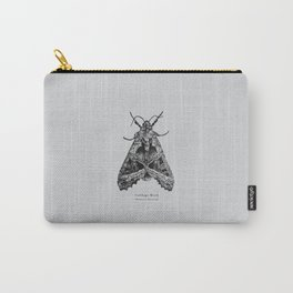 Cabbage Moth [Mamestra brassicae] Carry-All Pouch