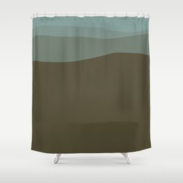 Breathing Space Shower Curtain