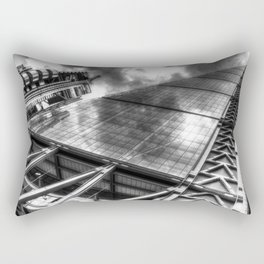 Lloyd's the Cheese Grater and Gherkin buildings London Rectangular Pillow