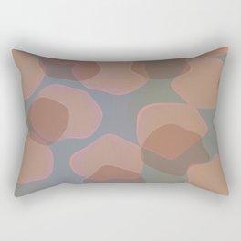 Peachy Colors Rectangular Pillow