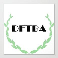 DFTBA Canvas Print