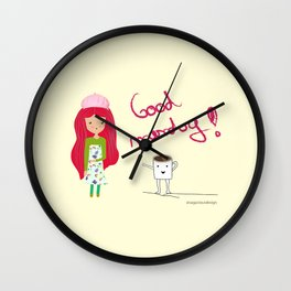 Good Monday Wall Clock