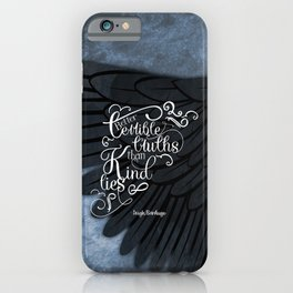 Six of Crows book quote design iPhone Case