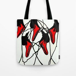 Moving Swan Tote Bag