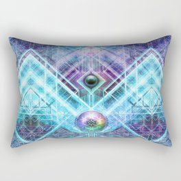 GenesisAlgorithm Rectangular Pillow