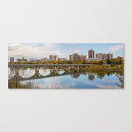 Saskatoon Pano Canvas Print
