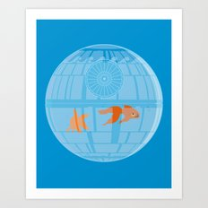 Empire Fish Bowl Art Print