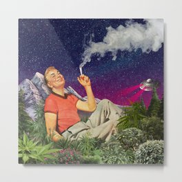 Relaxing Time Metal Print