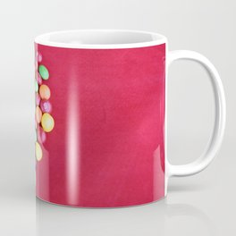 Skittles Heart Coffee Mug
