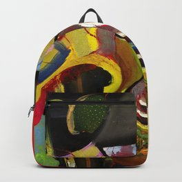 Circus Juice (oil on canvas) Backpack