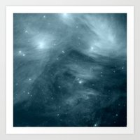 nebula Art Prints featuring NeBula by 2sweet4words Designs