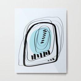Modern minimal forms 31 Metal Print