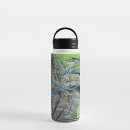 Fireworks on the Palm in Dubai 2013 Water Bottle