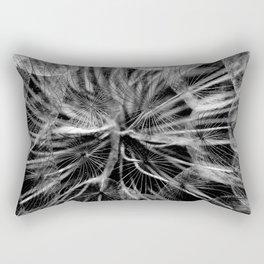 Black & White Whispers Rectangular Pillow
