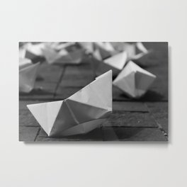 Paperboats #2 Metal Print