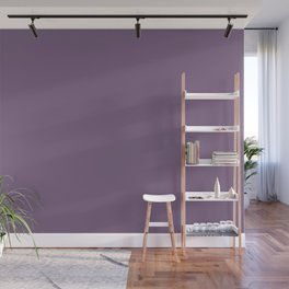 Rustic Wisteria ~ Dusky Violet Wall Mural