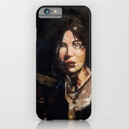 RTR Lara Croft iPhone Case