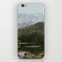 Mountain lake vibes II - Landscape Photography iPhone Skin