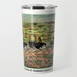 Distributing ship cargo of buggies Ohio to Australia Travel Mug
