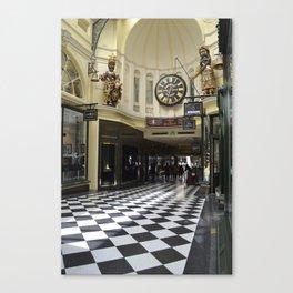 Melbourne Arcade Australia Canvas Print