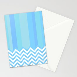 Aqua - Abstract Stationery Cards