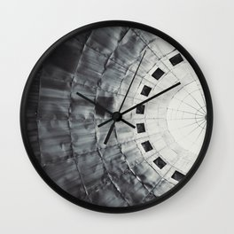 Rusting Dome Wall Clock
