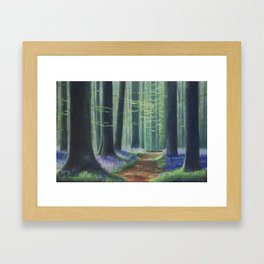 Stray True Framed Art Print