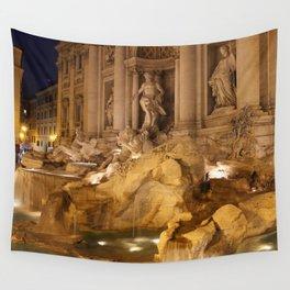 Trevi Fountain - Rome, Italy Wall Tapestry