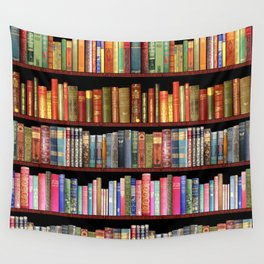 Vintage books ft Jane Austen & more Wandbehang