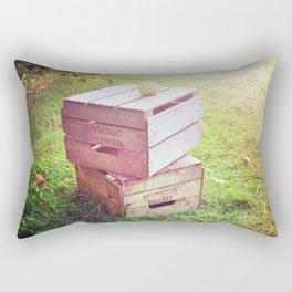Apple Crates Rectangular Pillow