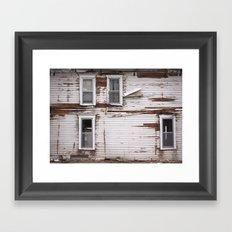 Distressed Framed Art Print