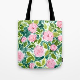 Roses in Bloom Tote Bag