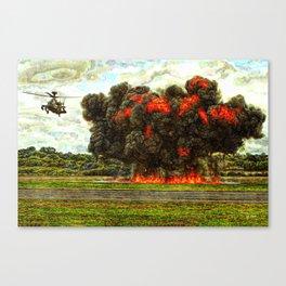 274 WAH-64D Apache Canvas Print