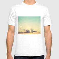 Freedom Mens Fitted Tee MEDIUM White
