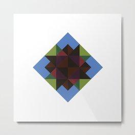 #394 Diamond in the sky – Geometry Daily Metal Print