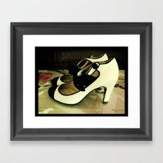 Shoes - Chanel I Framed Art Print