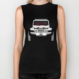 Jeep 'LUNAR_JK' Biker Tank
