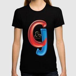 Candy logo of C&J Web Designers and Graphics LLC of Hartford CT T-shirt