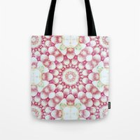pomegranate Tote Bags featuring Pomegranate by Truly Juel