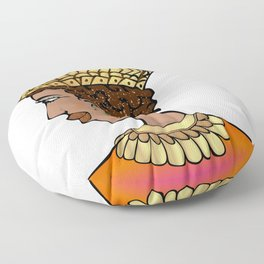 Nubian Beauty Floor Pillow
