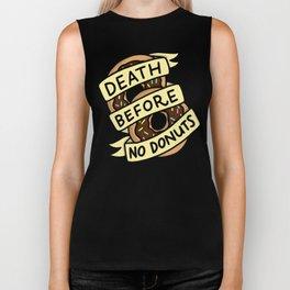 Death Before No Donuts Biker Tank