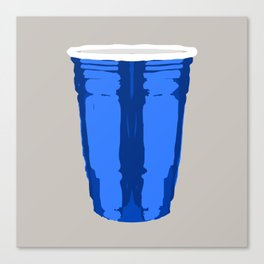 CLARITY CUP BLUE (BIG) Canvas Print