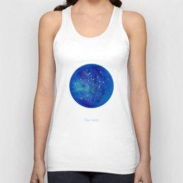 Constellation Sagittarius  Unisex Tank Top