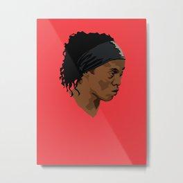 Ronaldinho Metal Print