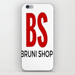 BS - Bruni Shop iPhone Skin