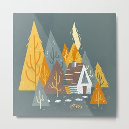 Forest Home Metal Print