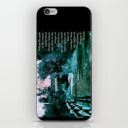 Follow the path of the Unsafe iPhone Skin