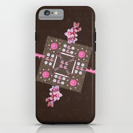 Breast Cancer Survivor Kaleidoscope Art iPhone Case