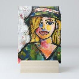 I don't care...Bright Mini Art Print